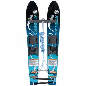 "45"" Cadet Trainer Waterskis with Rope"