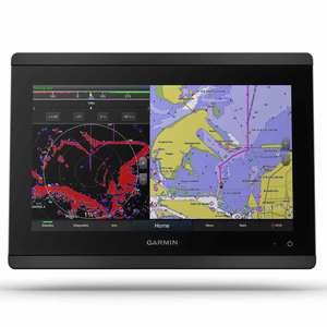 GPSMAP 8612 Multifunction Display with Full HD In-plane Switching (IPS) Display and BlueChart G3 and LakeVu G3 Charts