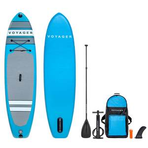 "10'6"" Voyager Inflatable Stand-Up Paddleboard Package"
