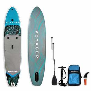"11'6"" Voyager Fisherman Inflatable Stand-Up Paddleboard Package"