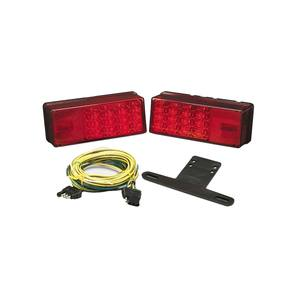 3 x 8 LED Low Profile Waterproof Trailer Light Kit, for Trailers Over 80""