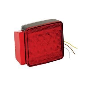 7-Function LED Submersible Combination Taillight, Left/Roadside, for Trailers Under 80""