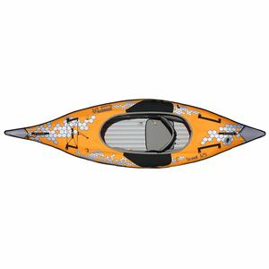 "10'5"" Scout Inflatable 1-Person Kayak with Pump"