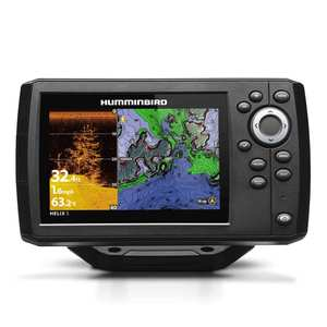 Helix 5 Chirp DI GPS G2 NAV+ Fishfinder/Chartplotter Combo with Transducer and Navionics+ Charts