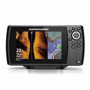 Helix 7 Chirp MSI GPS G3 Multifunction Display with Transducer and Navionics+ Charts