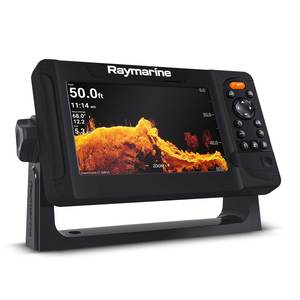 Element 7HV Fishfinder/Chartplotter Combo with HV-100 Transom Mount Transducer and Navionics Nav+ US/Canada Charts
