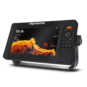 Element 9HV Fishfinder/Chartplotter Combo with HV-100 Transom-Mount Transducer and Navionics Nav+ US/Canada Charts