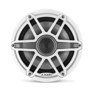 "M6-770X-S-GwGw 7.7"" Marine Coaxial Speakers, White Sport Grilles"