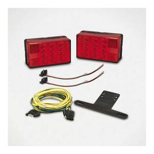 Trailer Light Kit with Harness and Hardware for Trailers Under 80""