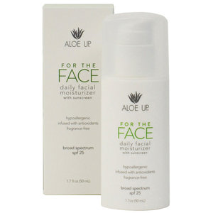 SPF 25 For the Face Moisturizer with Sunscreen
