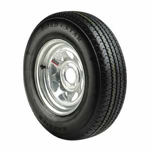 ST215/75 R 14 Radial Tire and Galvanized Spoke Rim with 5 x 4.5 Bolt Patern