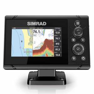 Cruise 5 Chartplotter/Fishfinder Combo with 83/200 Transducer and US Coastal Charts