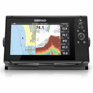 Cruise 9 Chartplotter/Fishfinder Combo with 83/200 Transducer and US Coastal Charts
