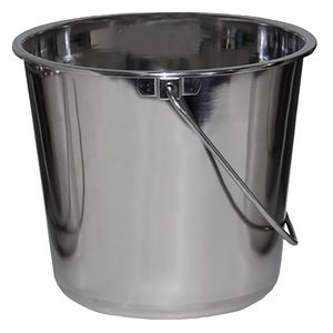 Stainless Steel Bucket, 1 Gallon