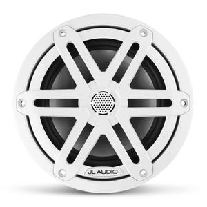 "M3-650X-S-Gw 6.5"" Marine Coaxial Speakers, White Sport Grilles"