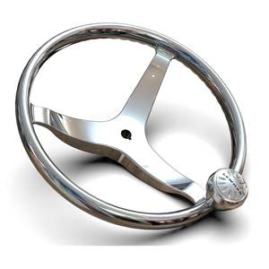 "13 1/2"" Power Grip Steering Wheel, 5/8"" Hub"