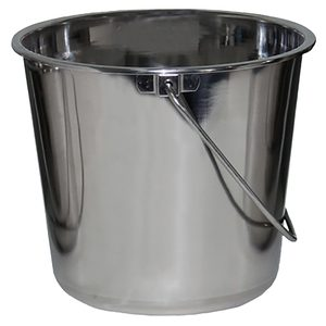 Jumbo Stainless Steel Bucket, 4 Gallon