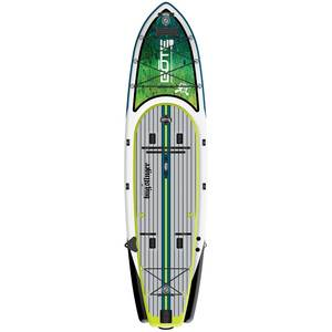 12' 4 Aero Rackham Bugslinger Inflatable Stand-Up Paddleboard Package