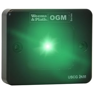 OGM Series LX2 Side Mount LED Starboard Navigation Light