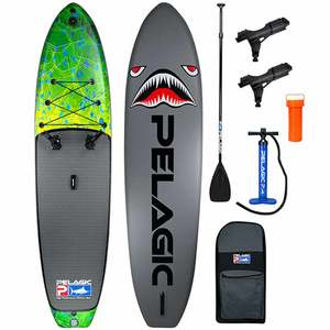 AquaRIG Inflatable Stand-Up Paddleboard Package, Dorado