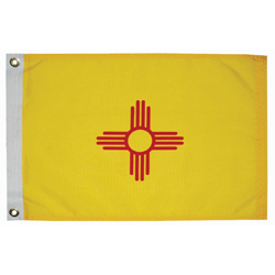 "New Mexico State Flag, 12"" x 18"""