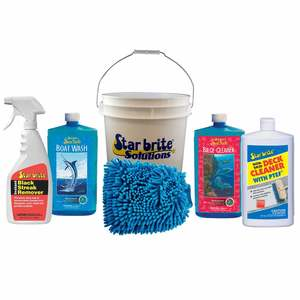 Boat Care Kit with 3 1/2 Gallon Bucket