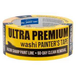 "2"" Ultra Premium Washi Painters Tape, Yellow"