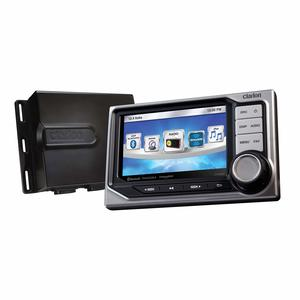 "CMS5 Marine Source Unit w/ iP6 Rated 4.3"" Optically Bonded Color LCD Display"