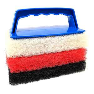 Scrub Pad Kit with Handle