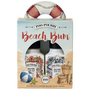 Beach Bum Toilet Spray Gift Set