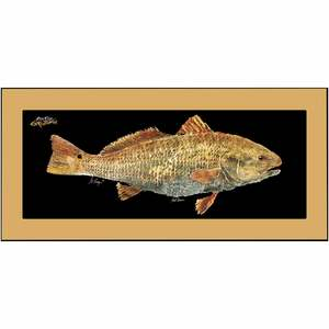 "Redfish Floor Mat, 18"" x 40"""