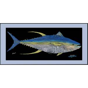 "Yellowfin Tuna Floor Mat, 18"" x 40"""