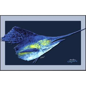 "Sailfish Floor Mat, 18"" x 40"""