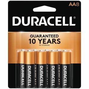 "Coppertop ""AA"" Batteries, 8-Pack"