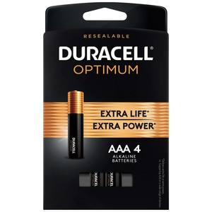 "Optimum ""AAA"" Batteries, 4-Pack"