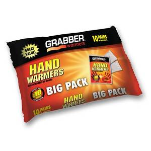 Hand Warmers, 10-Pairs
