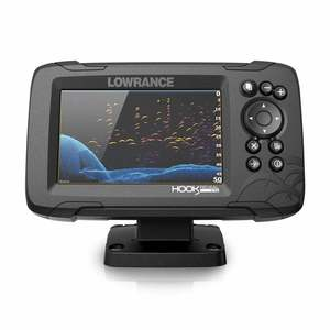 HOOK Reveal 5 Fishfinder/Chartplotter Combo with Splitshot Transducer and US Inland Charts