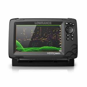 HOOK Reveal 7 Splitshot Fishfinder/Chartplotter Combo with Splitshot Transducer and US Inland Charts