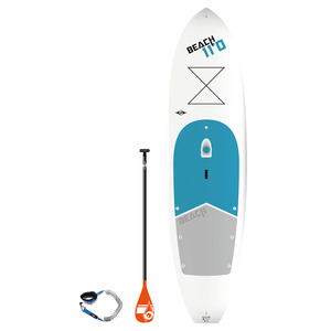 11' Tough-Tec Beach Stand-Up Paddleboard Package