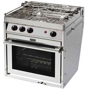 Three-Burner Euro Standard Gimbaled Propane Range