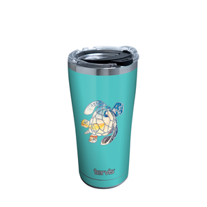 20 oz. Turtle Sunset Tumbler with Lid