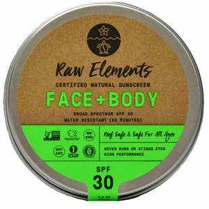 SPF 30 Face and Body Sunscreen Tin