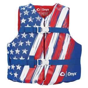 Stars & Stripes Life Jacket, Youth 50-90lb.