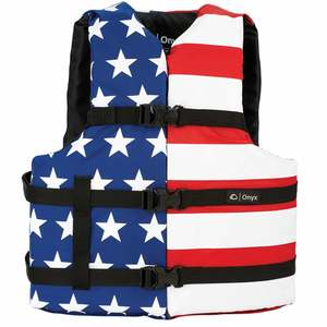 Stars & Stripes Adult Oversize Life Jacket