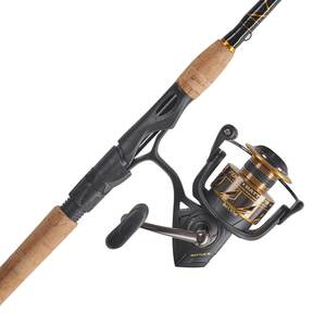 7' Battle® III 4000 2-Piece Spinning Combo