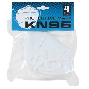 KN95 Protective Masks, 4-Pack