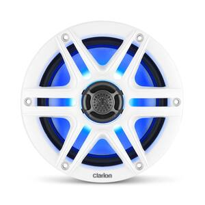 "CMS-651RGB-SWB  6.5"" 2-way Marine Speaker with Sport Grilles and RGB Lighting"