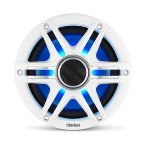 "CMSP-651RGB-SWG 6.5"" 2-way Premium Marine Speakers with Sport Grilles and RGB Lighting"