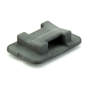 Tie Mount, Large, Black, AT5B, 30 Pack
