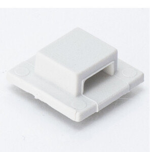 Tie Mount, Small, White, AT3, 30 Pack